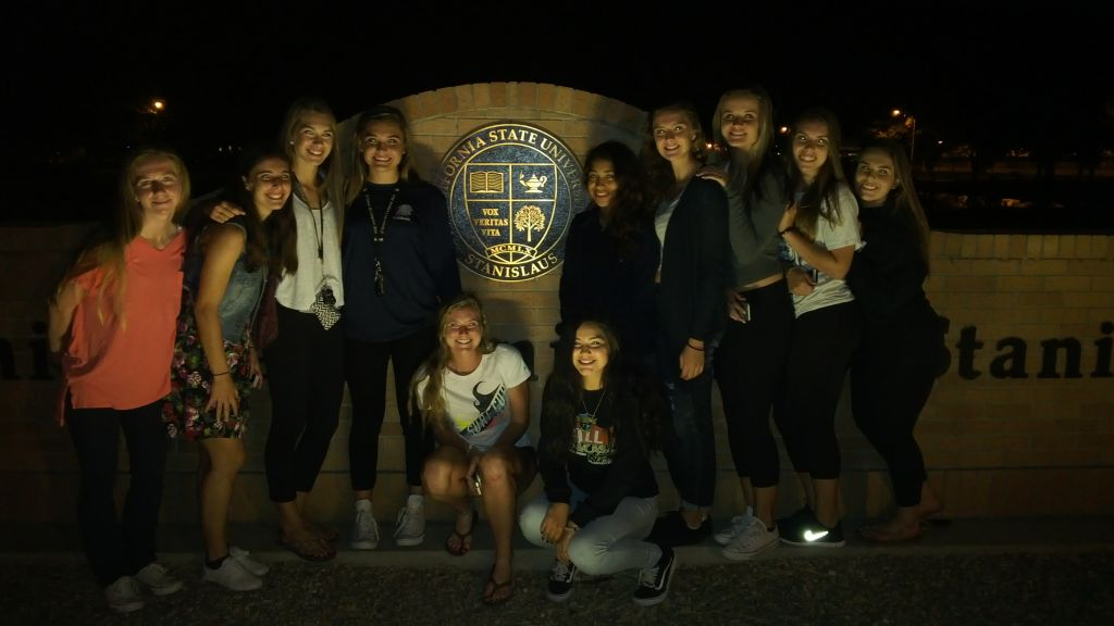 SRFC competitive team on an unofficial visit to Cal State Stanislaus